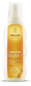Купить Sanddorn облепиховое тонизирующее молочко для тела 200мл цена