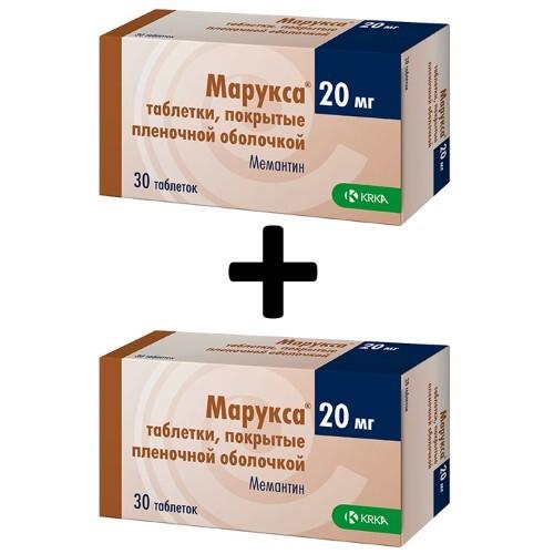 Купить Набор из 2 упаковок марукса 0,02 n30 табл п/плен/оболоч по специальной цене цена