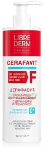Купить Церафавит крем липидовосстанавливающий с церамидами и пребиотиком 400мл цена
