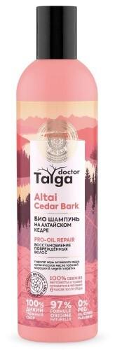 Купить Doctor taiga шампунь био восстановление поврежденных волос 400мл цена