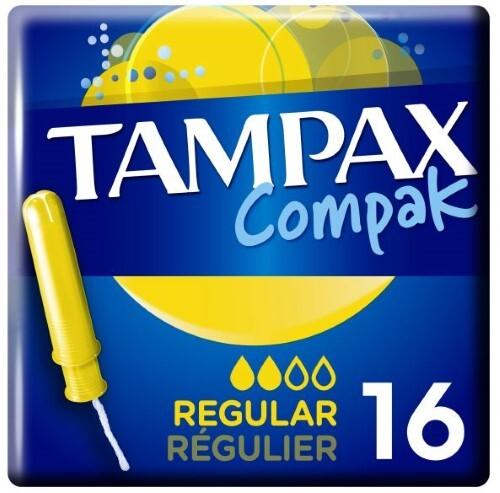 Купить Тампоны compak regular с аппликатором n16 цена