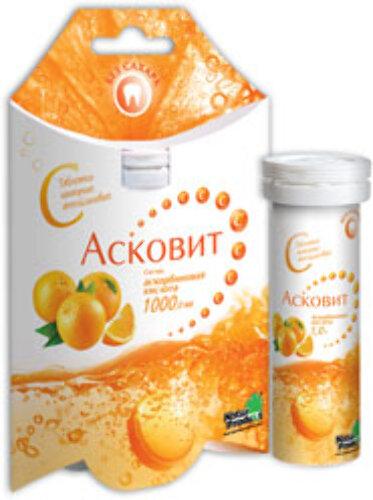 Купить АСКОВИТ 1,0 N10 ШИП ТАБЛ /АПЕЛЬСИН/ цена