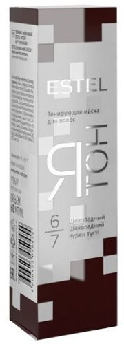 Купить Ятон тонирующая маска для волос тон 6/7 шоколадный 60мл цена
