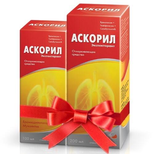 Набор для длительного приема АСКОРИЛ сироп со скидкой 10%
