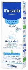 Купить Крем для лица увлажняющий hydra-bebe детский 40мл цена