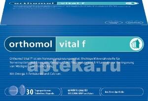 Купить Ортомоль витал ф /таблетки + капсулы/ курс цена