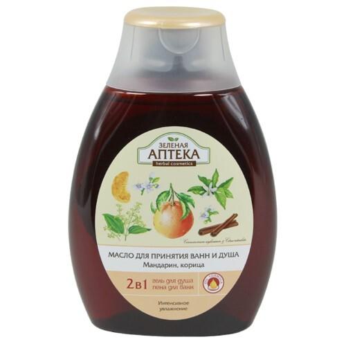 Купить Масло для принятия ванн и душа мандарин корица 250 мл цена