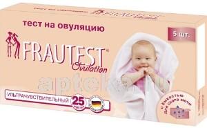 Купить Тест на овуляцию frautest ovulation n5 цена