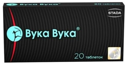 Купить ВУКА-ВУКА N20 ТАБЛ ПО 0,55Г цена