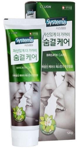 Купить Зубная паста dentor systema для ухода за дыханием с ароматом жасмина и мяты 120,0 цена