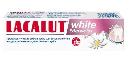 Купить White edelweiss зубная паста 75мл цена