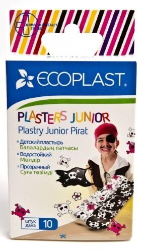 Купить Набор ecoplast набор пластырей мед полимер junior pirate 70х20мм n10 2 уп по цене 1! цена