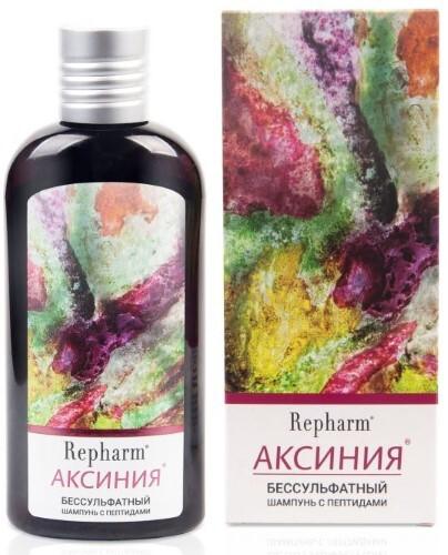 Аксиния бессульфатный шампунь с пептидами 200мл