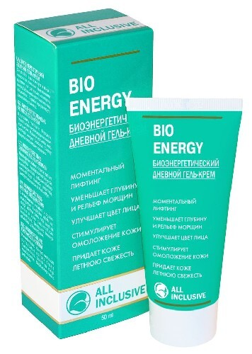 Купить Bio energy гель-крем биоэнергетический дневной 50мл цена