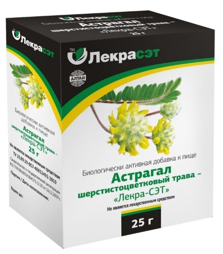 Купить Астрагал шерстистоцветковый трава - лекра-сэт цена
