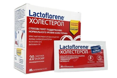 Купить Набор lactoflorene холестерол пакет duocam n20 - 2 упаковки с дополнительной скидкой цена