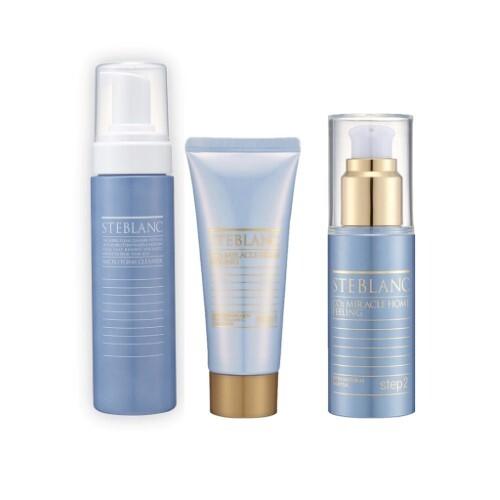 Набор STEBLANC «Очищение кожи»: двухфазный всесезонный пилинг и пенка для очищения кожи лица