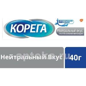 Крем для фиксации зубных протезов нейтральный вкус 40,0