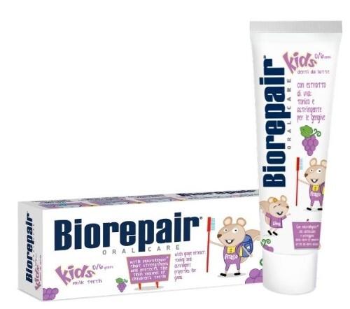 Купить Kids зубная паста детская 0-6 лет с экстрактом винограда 50мл цена