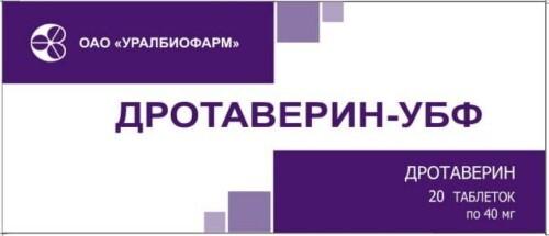 Купить ДРОТАВЕРИН-УБФ 0,04 N20 ТАБЛ/БЛИСТЕР/ цена