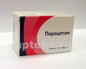 Купить Пирацетам 0,8 n30 табл п/плен/оболоч цена