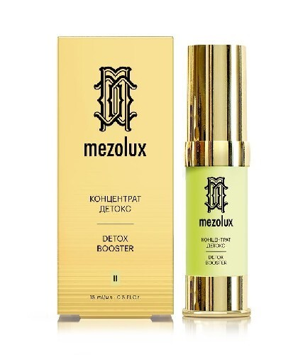 Купить Mezolux концентрат-детокс 15мл цена