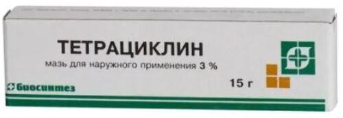 Купить Тетрациклин 3% 15,0 мазь цена