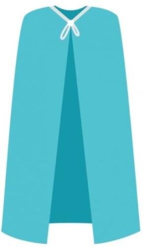 Купить Накидка для пациента модель n1 нестерильная спанбонд 20гр/м2 размер 50-60/160х110см/ n5 голубая цена