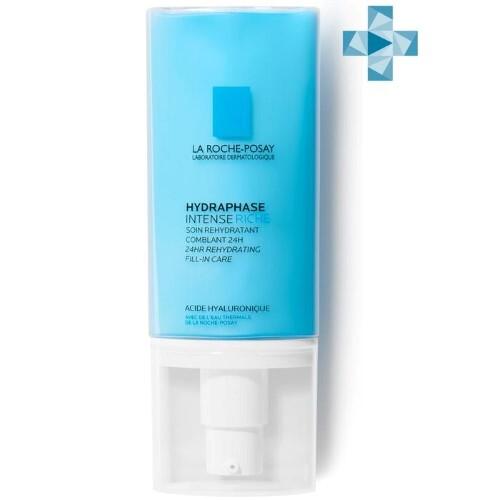 Купить Hydraphase intense riche интенсивное увлажняющее средство для обезвоженной нормальной и сухой чувствительной кожи 50мл цена