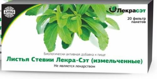 Купить Стевии листья лекра-сэт цена