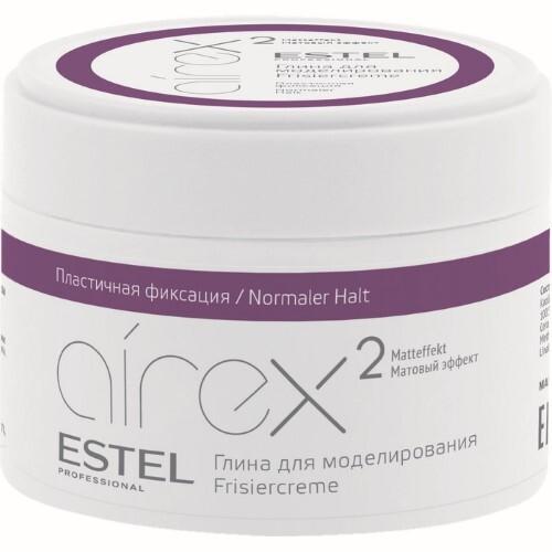 Купить Professional airex глина для моделирования волос с матовым эффектом пластичная фиксация 65мл цена
