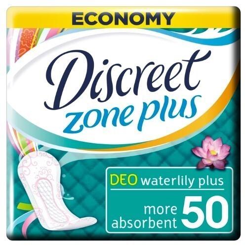 Купить Deo plus водяная лилия ежедневные гигиенические прокладки n50 цена