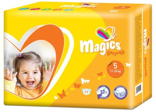 Купить MAGICS EASYSOFT ПОДГУЗНИКИ ДЕТСКИЕ РАЗМЕР 5/JUNIOR 11-25КГ N42 цена