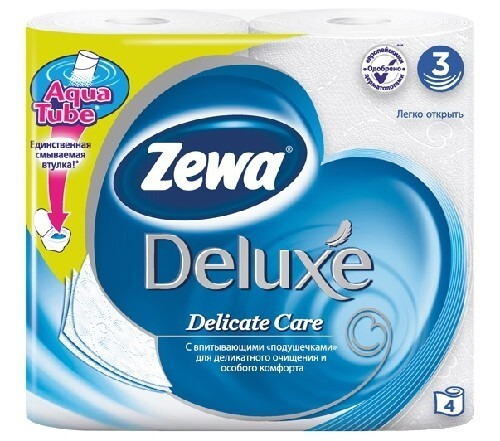 Купить Туалетная бумага делюкс белая 3 слоя n4 цена