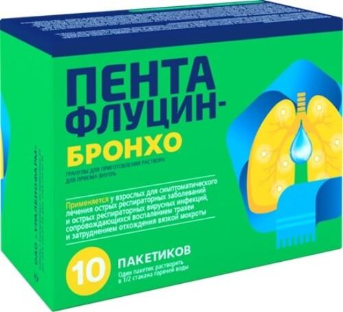 Купить Пентафлуцин-бронхо цена