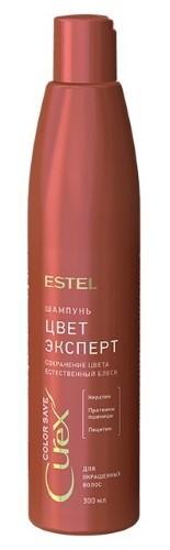 Купить Curex color save шампунь цвет-эксперт для окрашенных волос 300мл цена