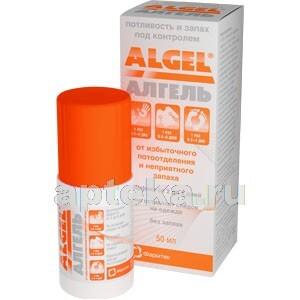 Купить Алгель гель-антиперспирант длительного действия 50мл ролл-он флакон цена