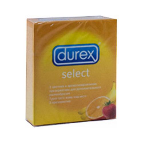 Купить DUREX ПРЕЗЕРВАТИВЫ FRUITY MIX/SELECT N3 цена