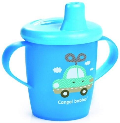 Купить Поильник-непроливайка toys 250мл 9+/голубой цена