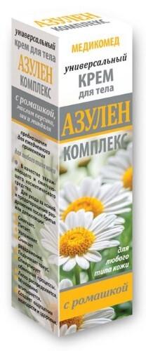 Купить Азулен комплекс медикомед крем для тела универсальный 100мл цена