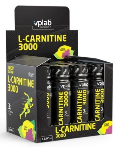 Купить Вплаб l-карнитине 3000 напиток со вкусом цитрус-виноград цена