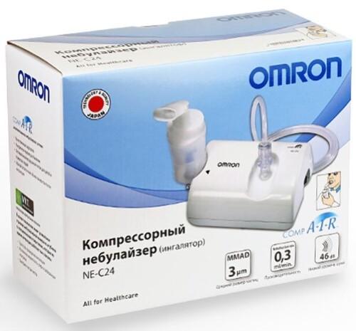Купить Ингалятор omron ne-c24(ne-c801s-ru) компрессорный цена