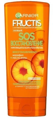Купить Fructis sos восстановление укрепляющий бальзам-ополаскиватель 200мл цена