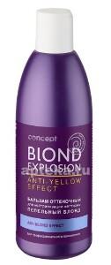 Купить Blond explosion бальзам оттеночный для волос эффект пепельный блонд 300мл цена