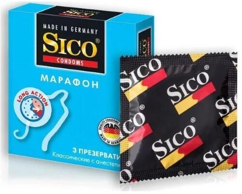 Купить SICO ПРЕЗЕРВАТИВ МАРАФОН N3 цена