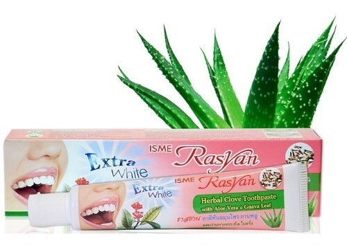 Купить Зубная паста травяная с гвоздикой алоэ вера и листьями гуавы 30,0 цена