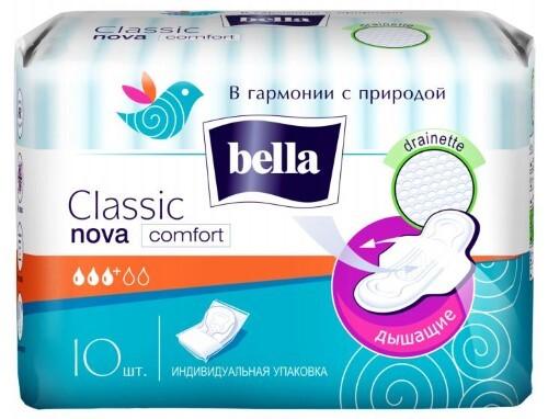 Купить Прокладки classic nova komfort drainette n10 цена