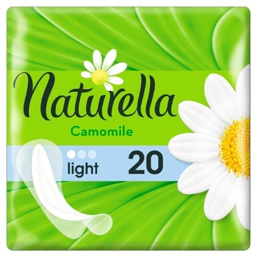 Купить NATURELLA CAMOMILE LIGHT ЕЖЕДНЕВНЫЕ ПРОКЛАДКИ N20 цена