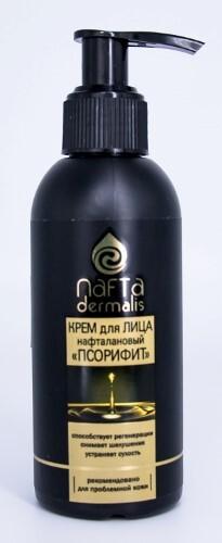 Купить Псорифит нафталановый питательный крем для проблемной кожи лица 140мл цена