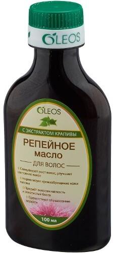 Купить Масло репейное с экстрактом крапивы 100мл цена